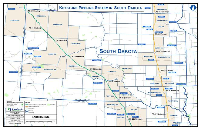 Click to learn more about the Keystone XL Pipeline in South Dakota